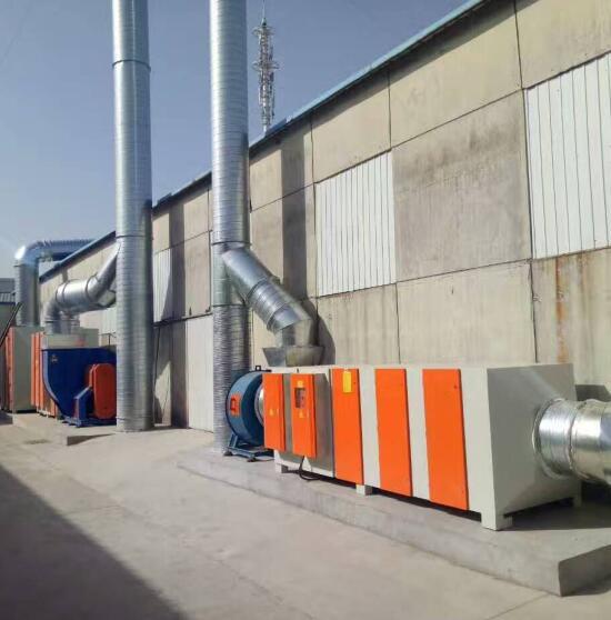 喷漆房VOC废气处理系统