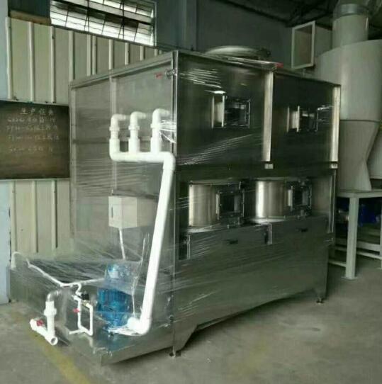 喷漆房粉尘处理系统
