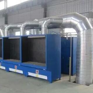 多工位焊烟收集系统